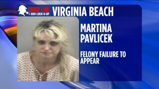 Virginia Beach Police looking for woman wanted for failing to appear on DUI charge