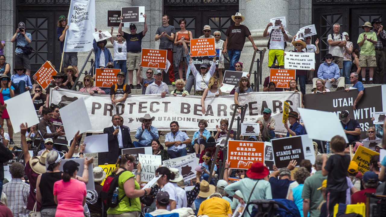 Tribal coalition joins blitz to save monuments