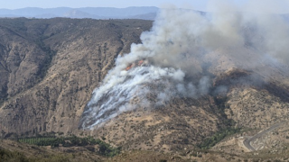 Clevenger Fire in Ramona