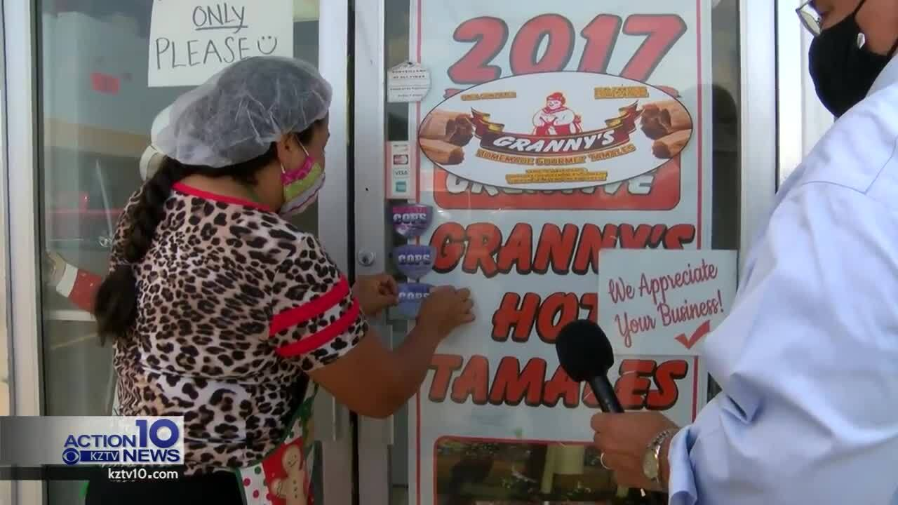 Granny's Tamales earned its fourth perfect score from health inspectors