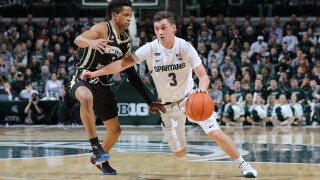 Foster Loyer scores 16 points, Michigan State rolls without Winston