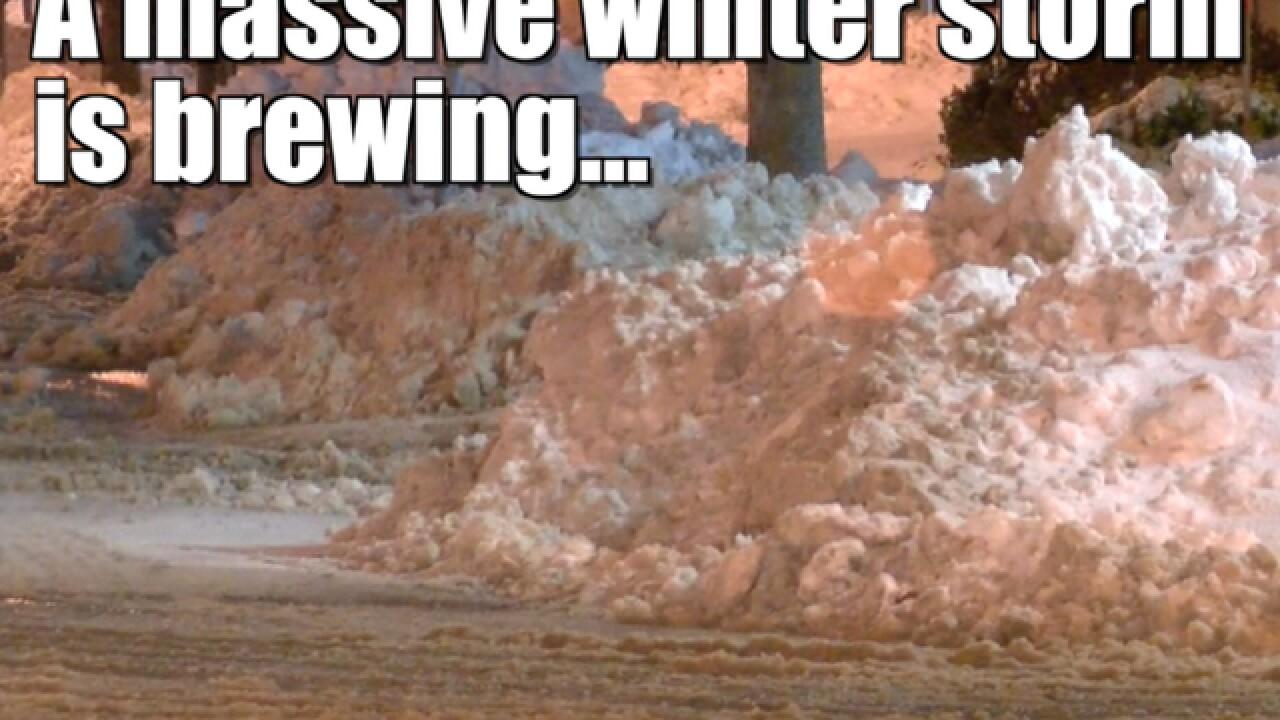 Massive winter storm to disrupt travel across US