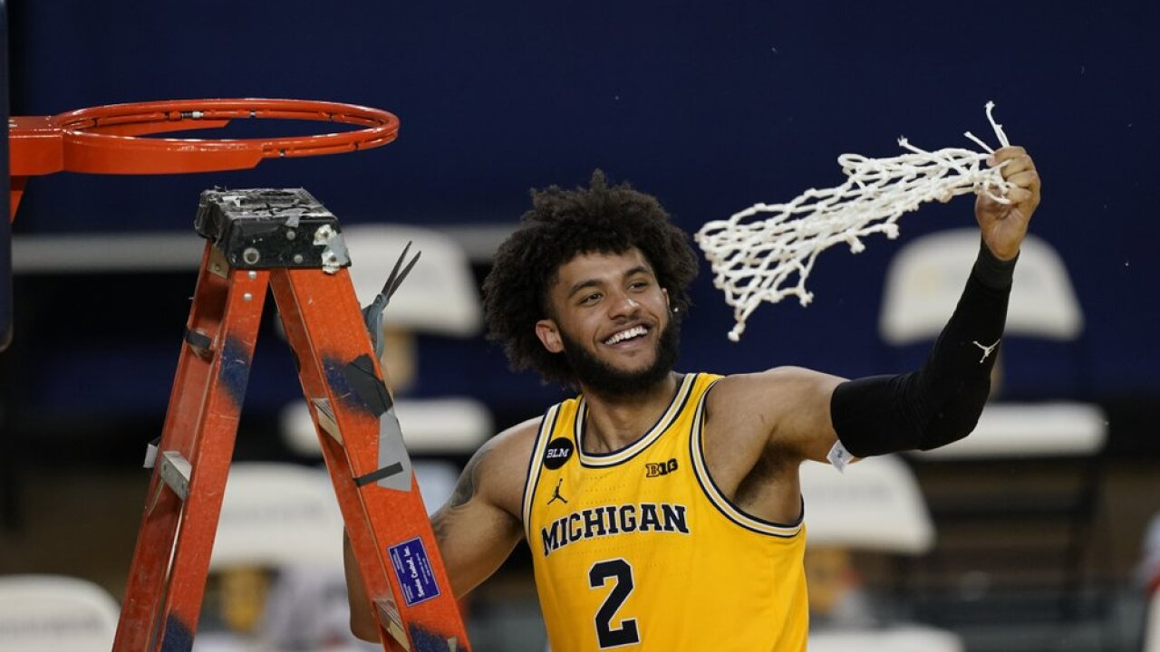 Michigan forward Isaiah Livers