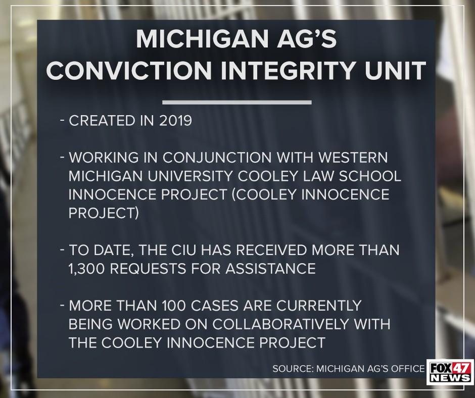 Michigan Attorney General's Conviction Integrity Unit