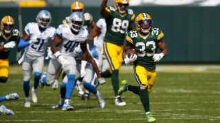Jones' big day helps Packers beat Lions 42-21 in home opener