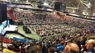Resch Center holds Jehovah's Witnesses convention in 2019