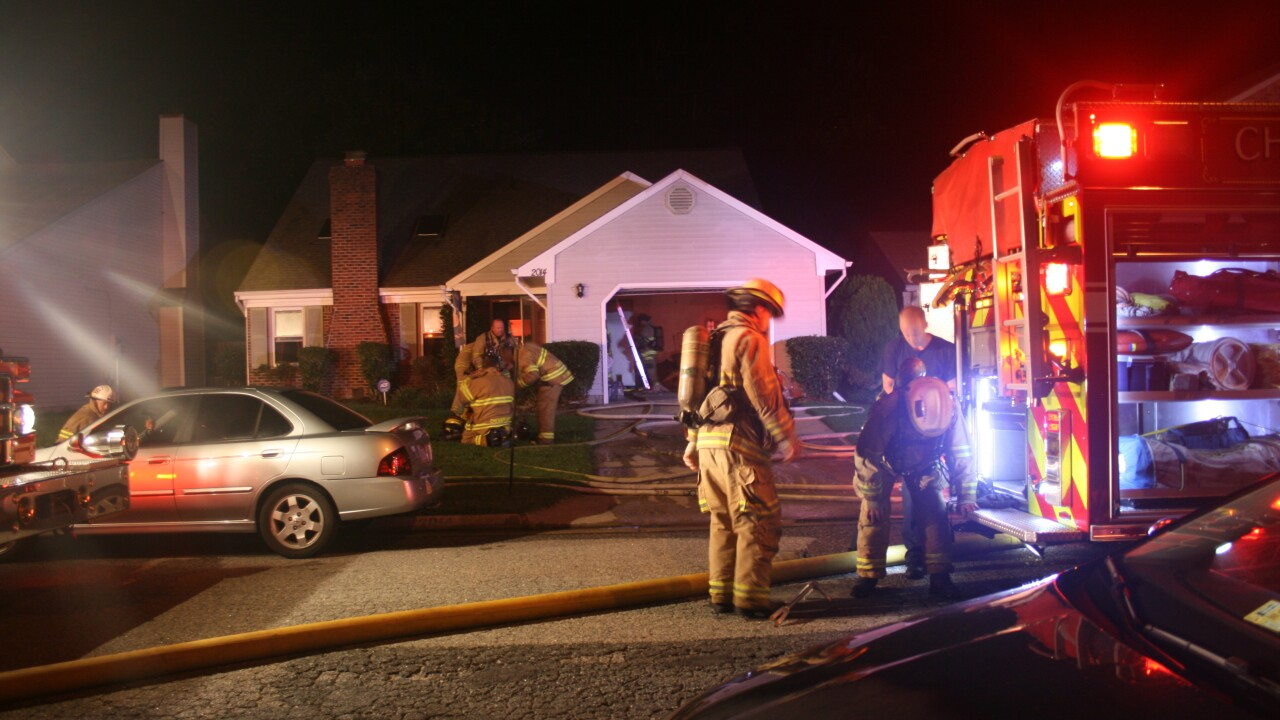 Two dogs, one cat killed in Chesapeake house fire