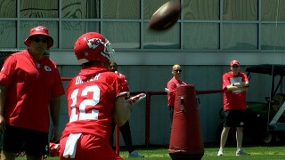 Chiefs rookie minicamp begins