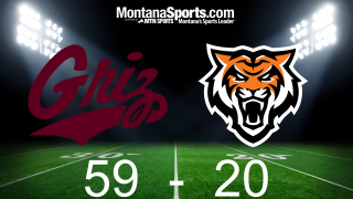 Rapid reaction: No. 8 Montana Grizzlies 59, Idaho State Bengals 20