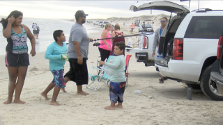 Big crowds expected at beaches over holiday