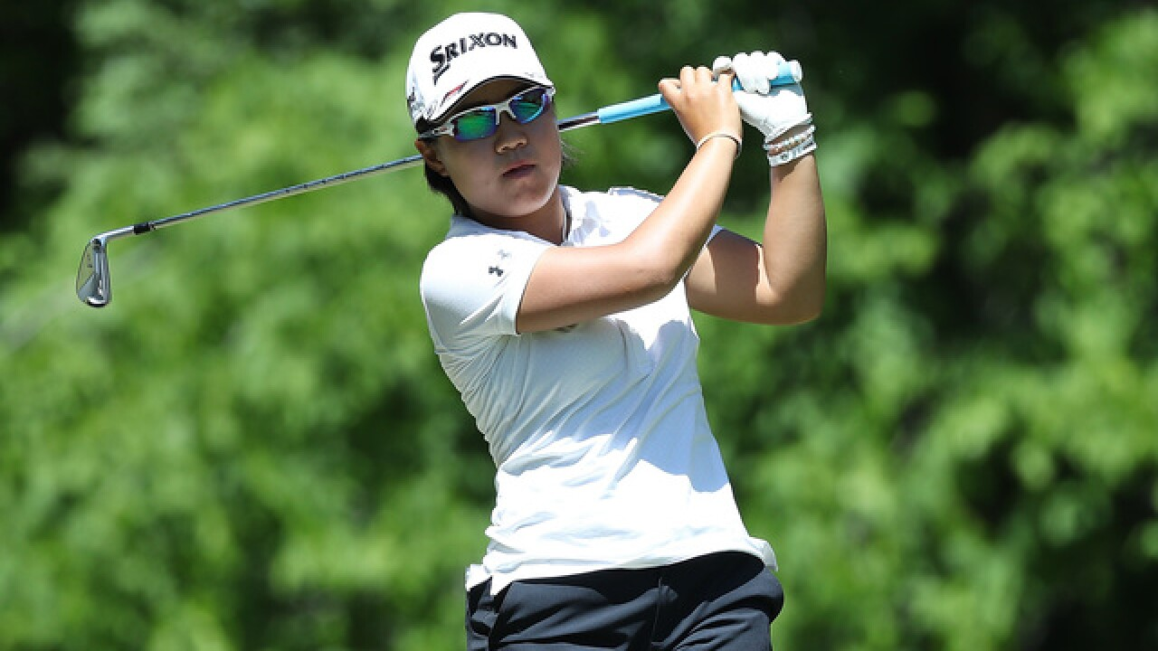 Nasa Hataoka leads LPGA Tour event in Michigan