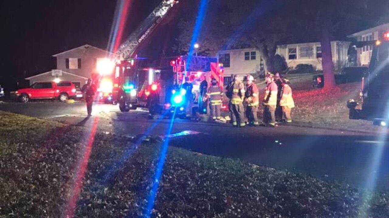Woman dead in Overland Park house fire