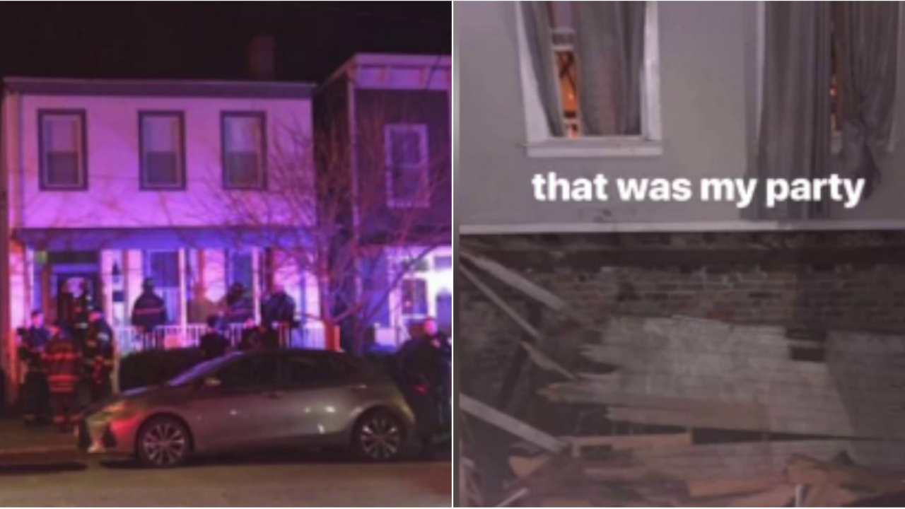 Minor seriously injured when floor collapses during Church Hill houseparty