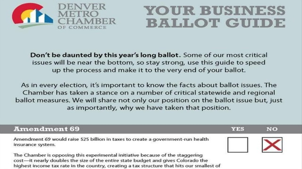 Ethical concerns over ballot guide unfounded