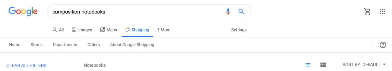Google shoppi