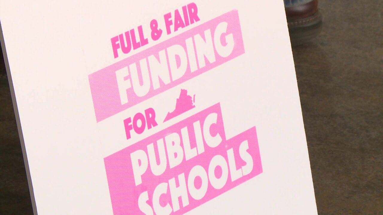 Virginia teachers union to hold 'Fund Our Future' rally