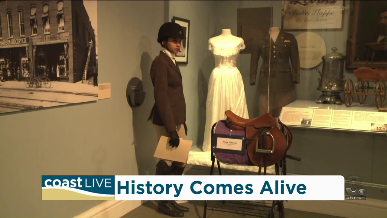 A preview of The 2019 Living Black Wax Museum on Coast Live