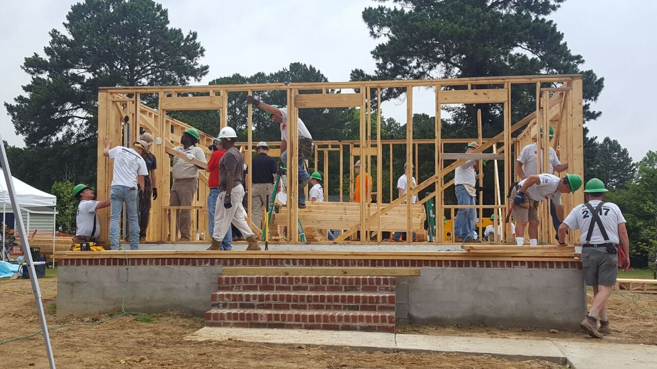 Fast-paced construction project builds Suffolk home in five days