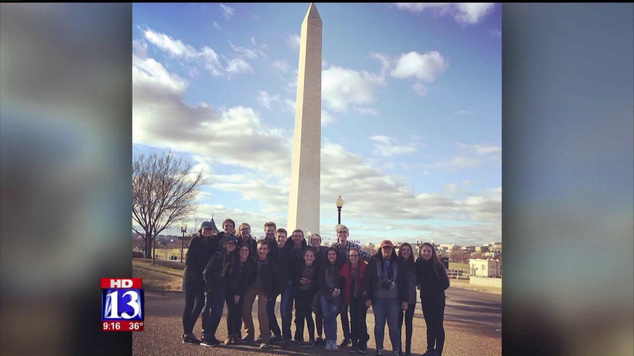 Student leaders from Utah visit Washington forinauguration