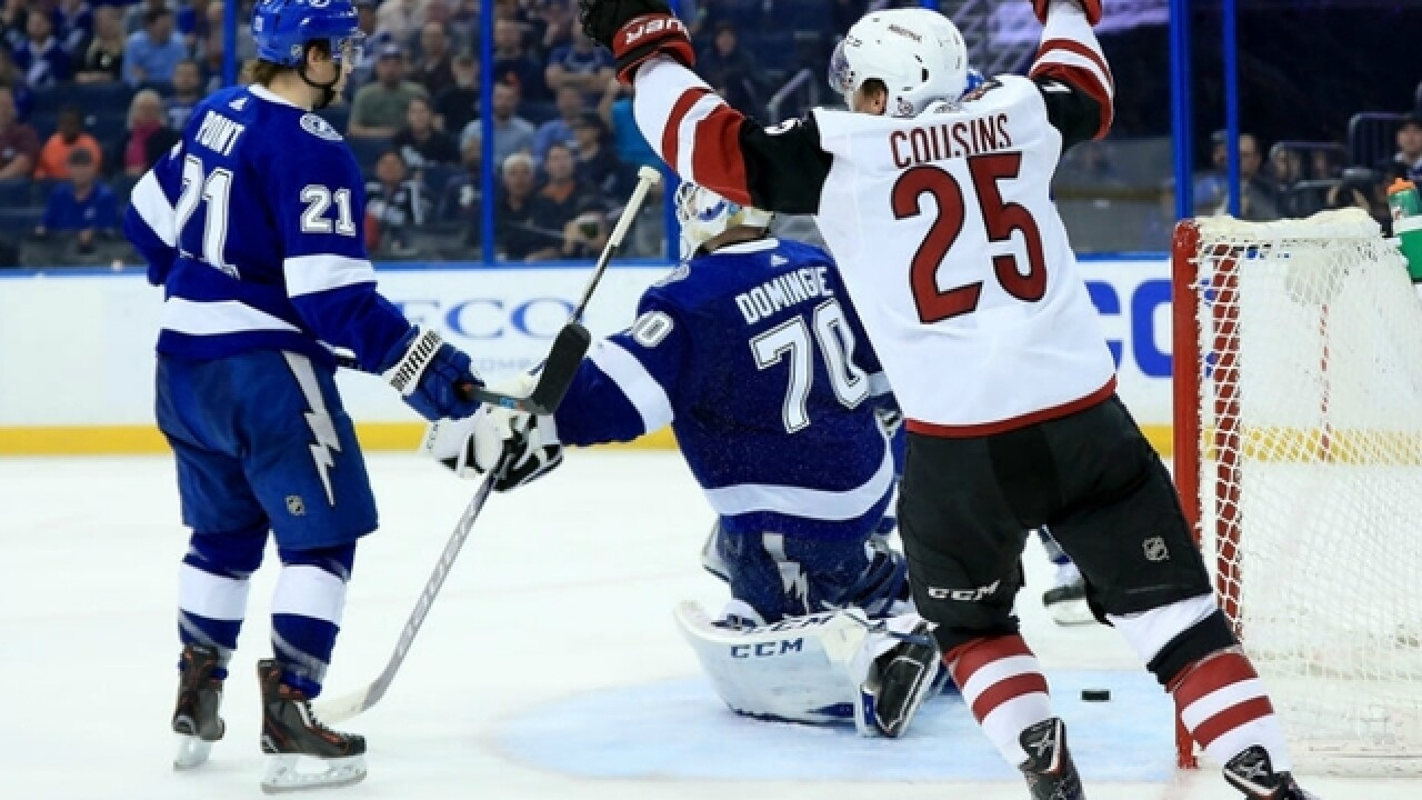 Phoenix Coyotes Beat Tampa Bay Lightning As Steven Stamkos Misses