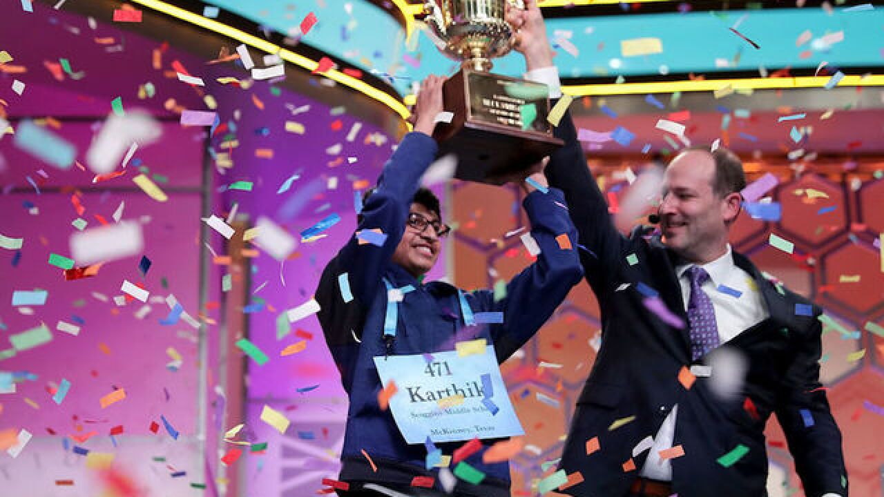 Scripps National Spelling Bee Word List 2020.Scripps National Spelling Bee Releases 2018 2019 Great Words