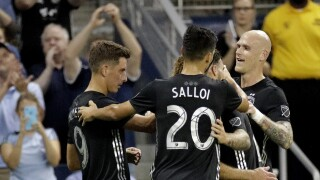 MLS Timbers Sporting KC Soccer Daniel Salloi