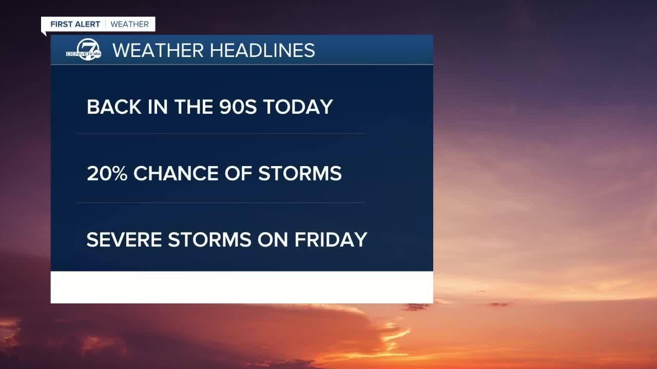 June 24 2020 5:15 a.m. forecast