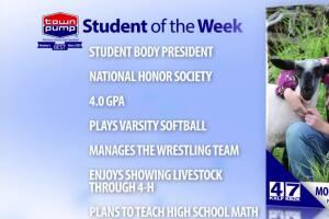 Student of the Week: Morgan Stevenson