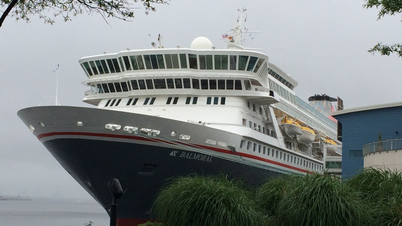 Cruise ship passengers in Norfolk isolated for norovirus