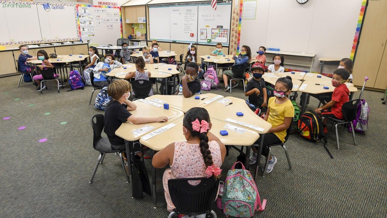 California Elementary School Students