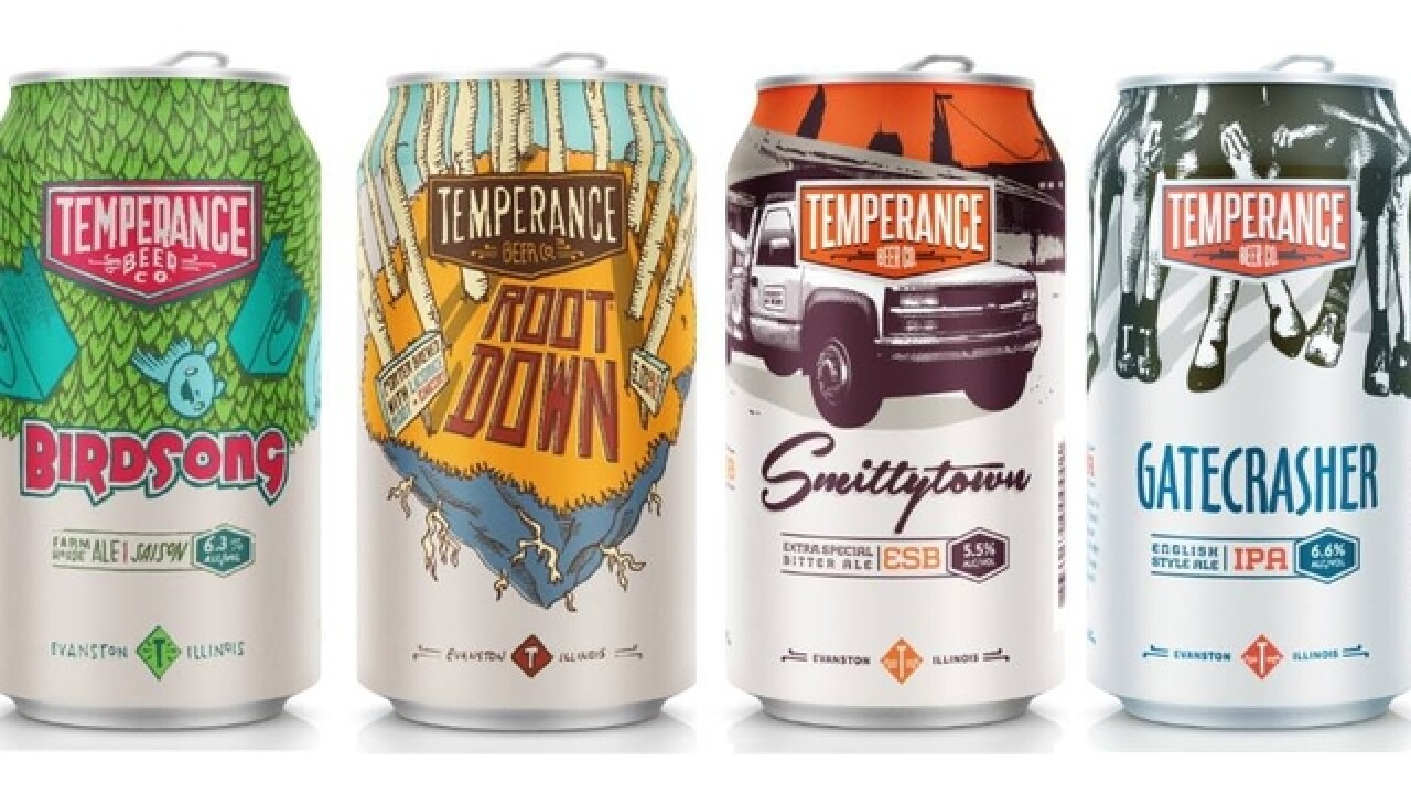 Greater Chicago's Temperance Beer Company now distributing in Cincinnati