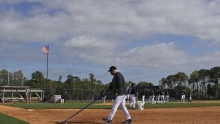 Tigers Spring Baseball