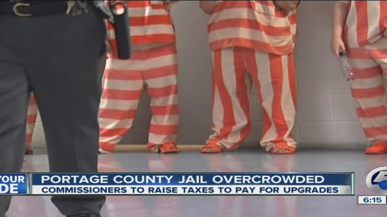 Overcrowded jail leads to Portage Co. tax spike