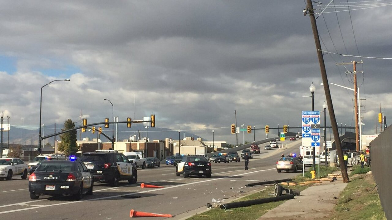 Two pedestrians hit by pickup truck in Salt LakeCity