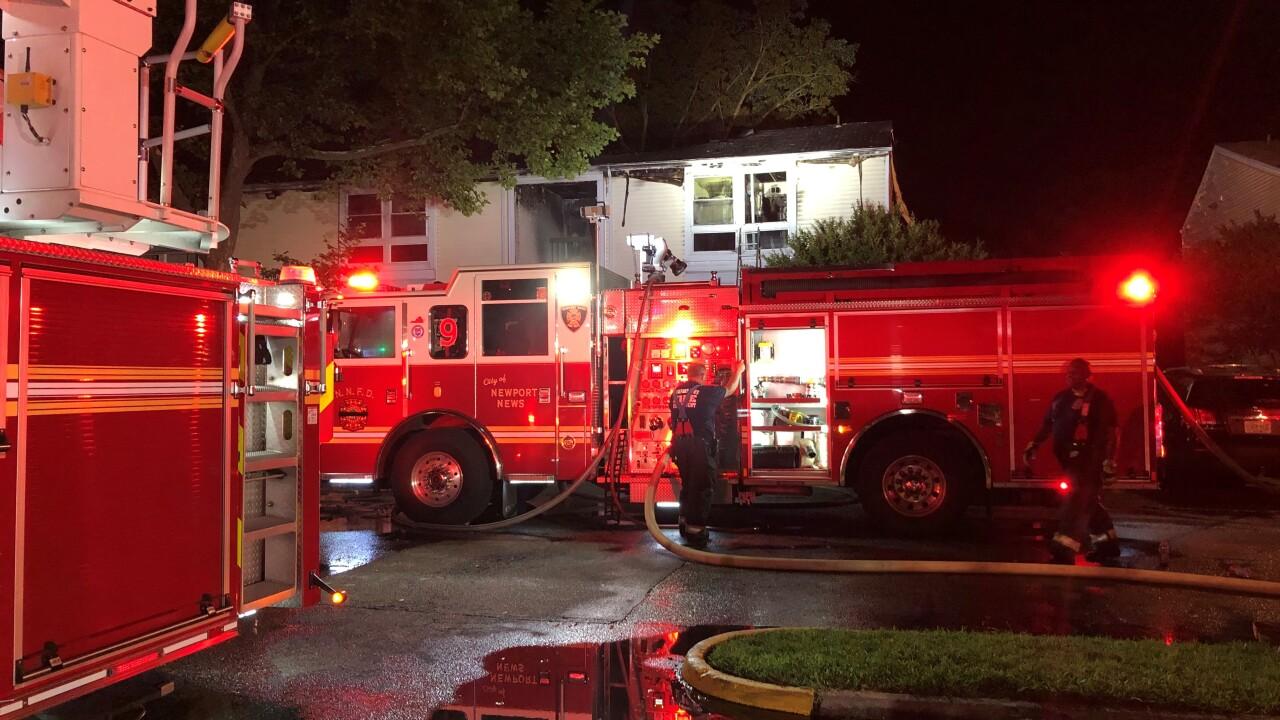 NN 13000 Preakness Drive apartment fire (June 30) 4.jpg
