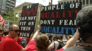 KKK rally in Dayton