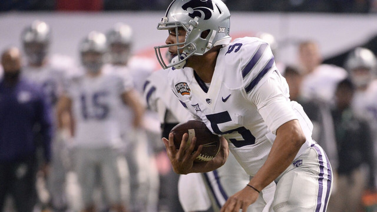 Quarterbacks show promise at K-State spring football game