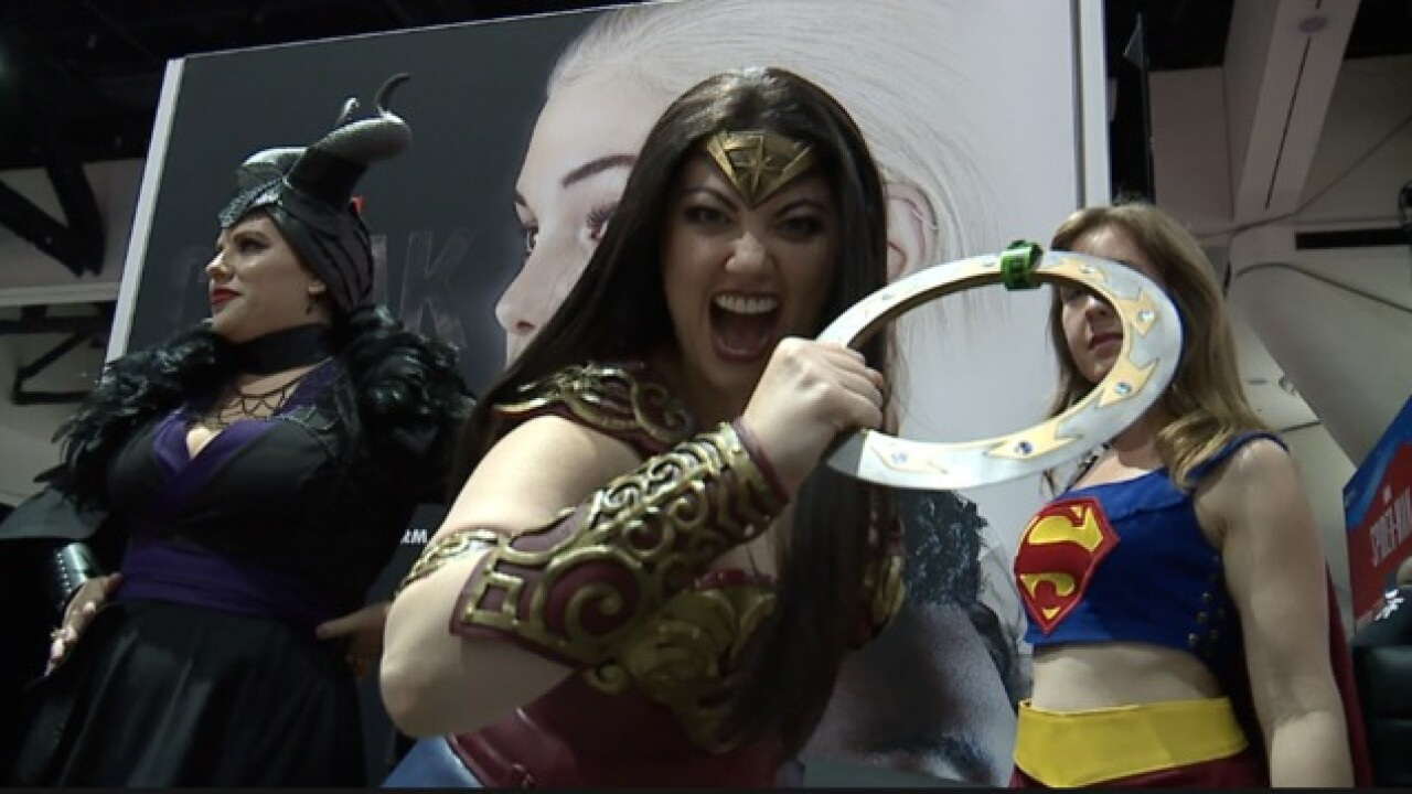 Comic-Con Preview Night: Eyes on the prize