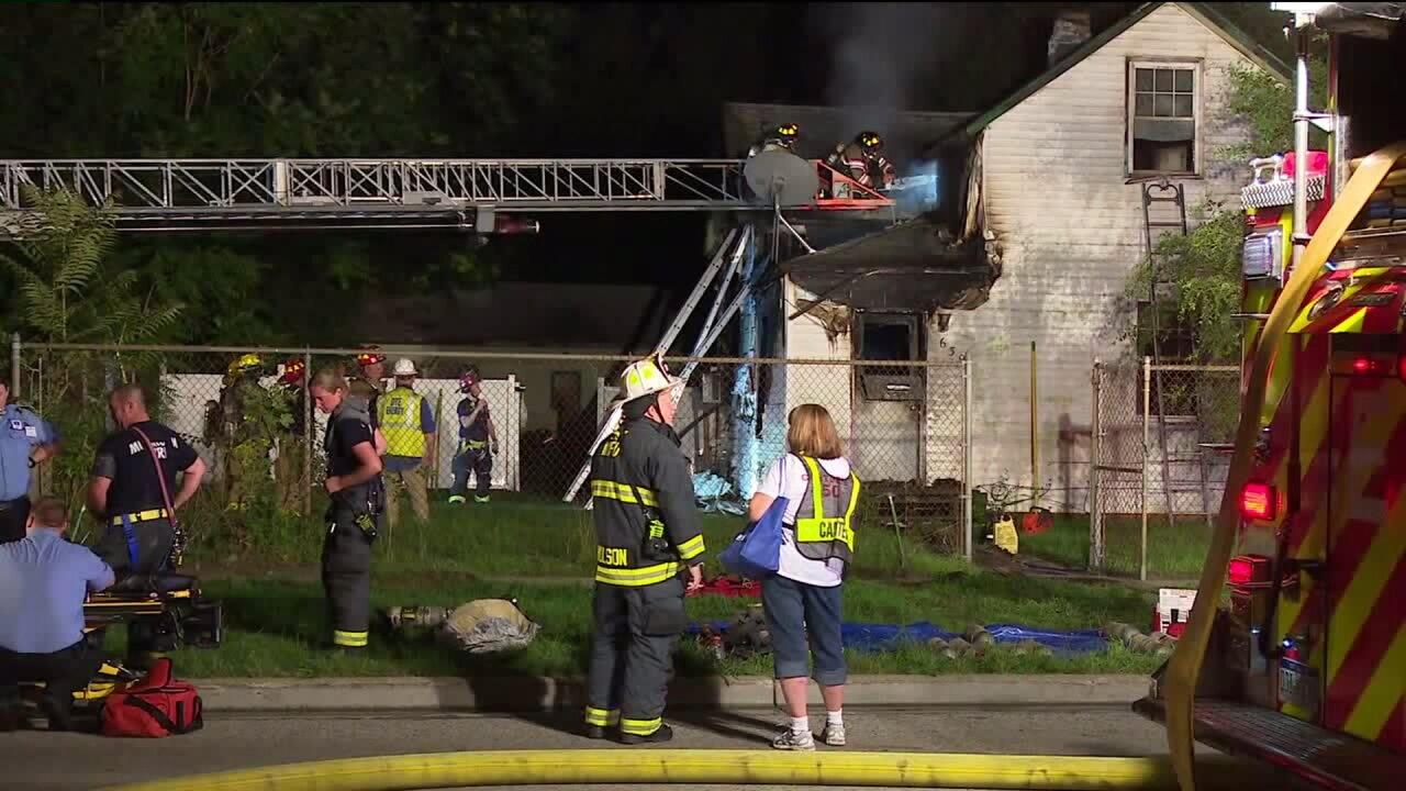 Muskegon house fire
