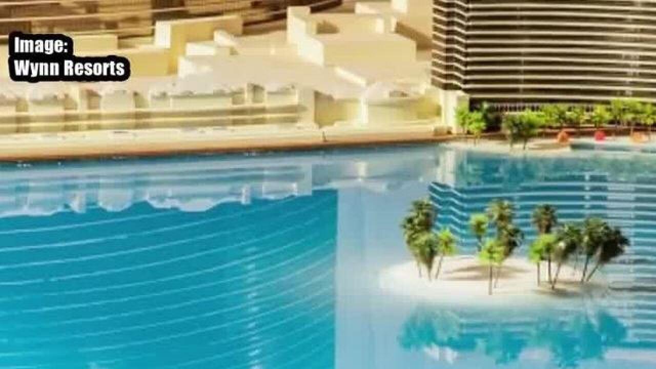 Major projects under development in Las Vegas