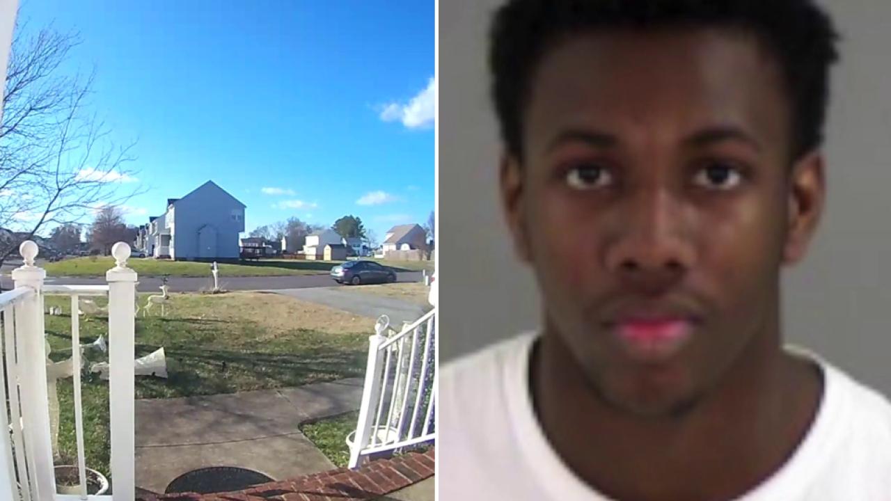 Student slashed with machete in Henrico yard, ex-boyfriendarrested