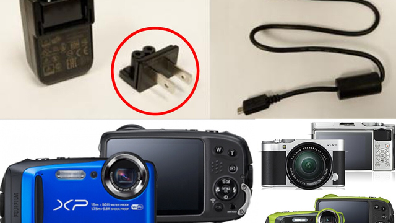 Fujifilm recalls power adapter wall plugs