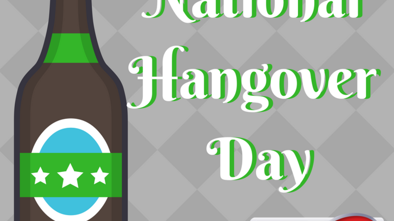 National Hangover Day: What's the best hangover cure?