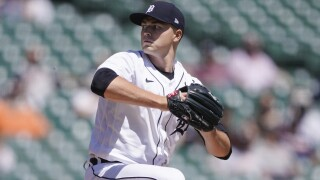 Tarik Skubal Yankees Tigers Baseball