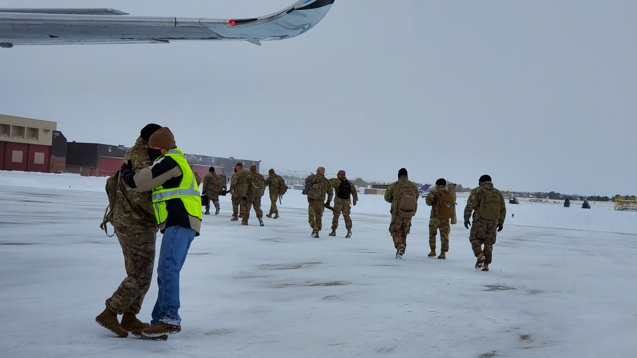 Montana soldiers return home after year-long deployment in Middle East