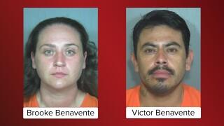 Brooke Benavente and Victor Benavente