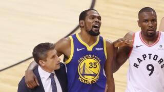 KNXV Kevin Durant NBA Finals