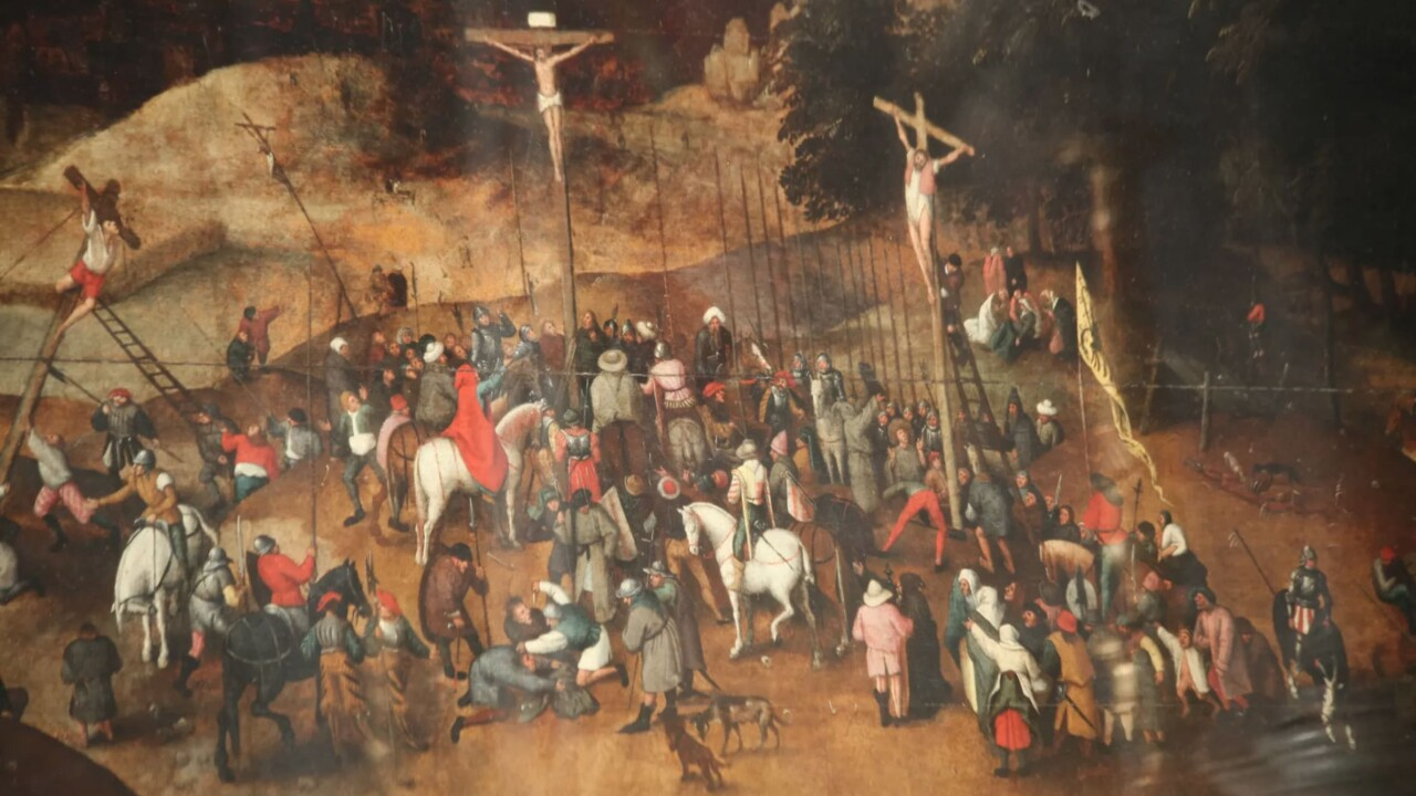 Art thieves caught stealing what they thought was a $3.4 million Bruegel masterpiece