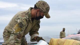 Coast Guard, Navy offload more than $211 million worth of cocaine, marijuana in San Diego