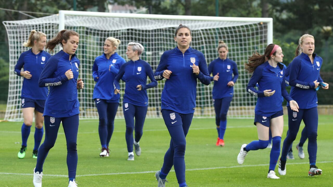 Sweden & USA Training Sessions - 2019 FIFA Women's World Cup France